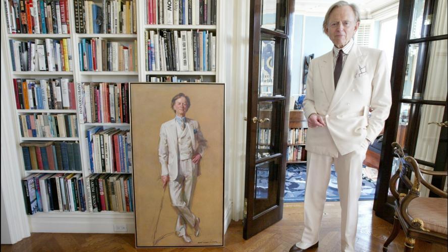 Tom Wolfe, auteur du Bûcher des vanités, est mort