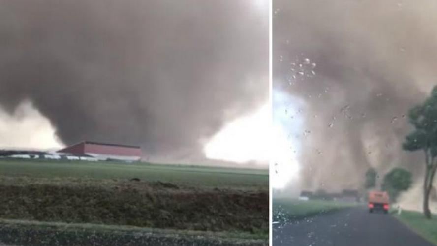 Une tornade fait deux blessés et dévaste des dizaines de maisons — Allemagne