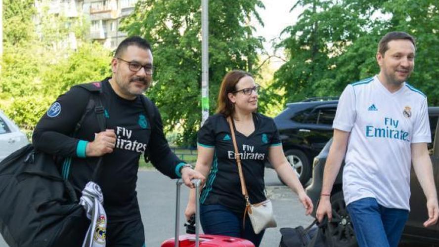 Ligue des champions kiev un ministre ukrainien h berge for Site de booking hotel