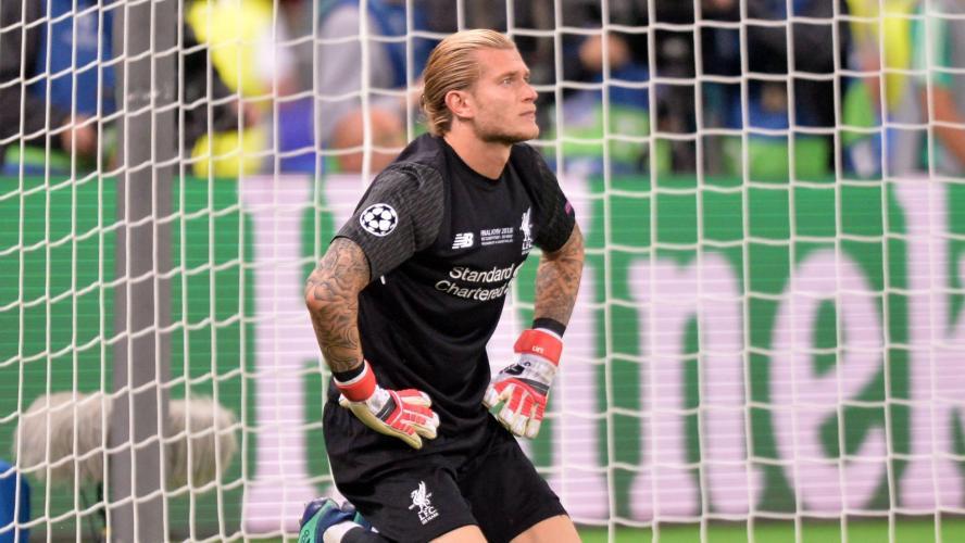 Les deux énormes boulettes du gardien de Liverpool — Ligue des Champions