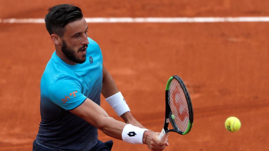 Quand Dzumhur percute un ramasseur de balles — Roland Garros
