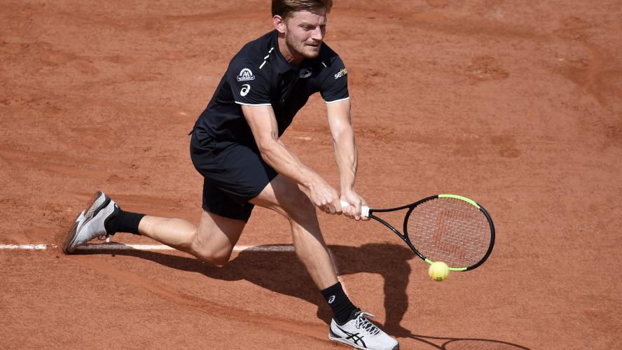 Roland-Garros: Goffin revient à 2 sets partout (direct)