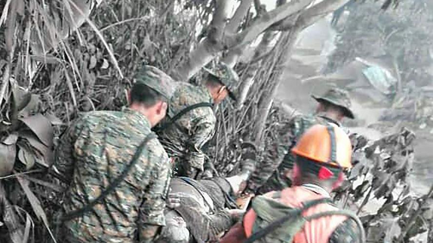 Un bilan en hausse qui pourrait encore s'alourdir — Eruption au Guatemala