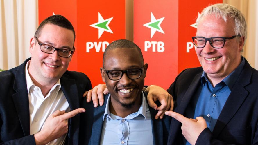"""Résultat de recherche d'images pour """"PTB élections belges"""""""