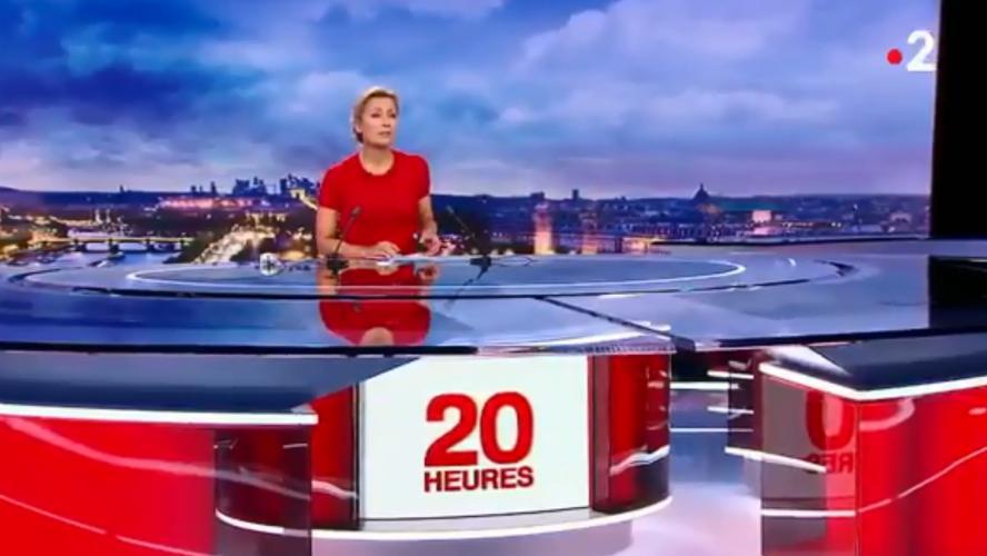 Mondial 2018: A la veille du lancement de l'événement, Anne-Sophie Lapix adresse une pique aux footballeurs - Regardez