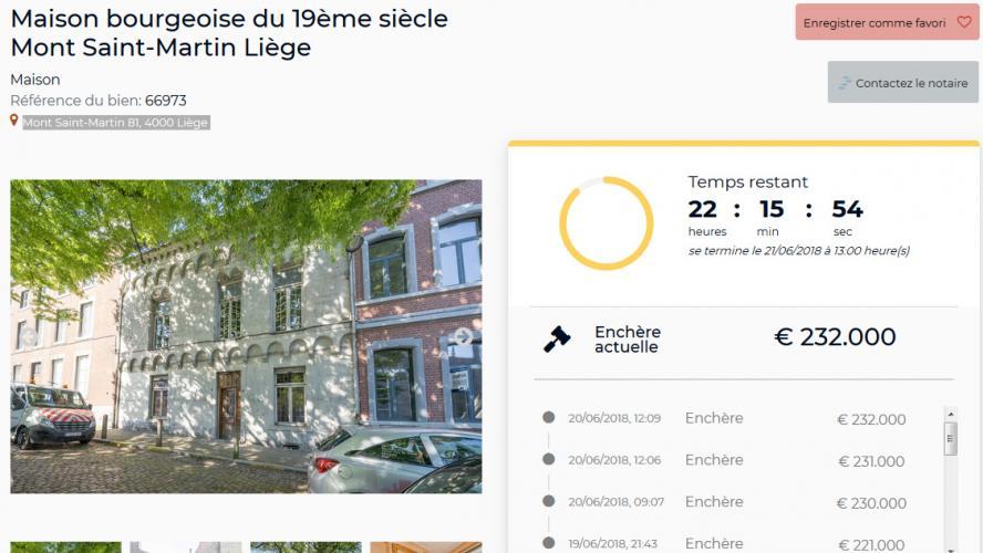 une plateforme in dite permet maintenant d acheter une maison aux ench res sur le web la. Black Bedroom Furniture Sets. Home Design Ideas