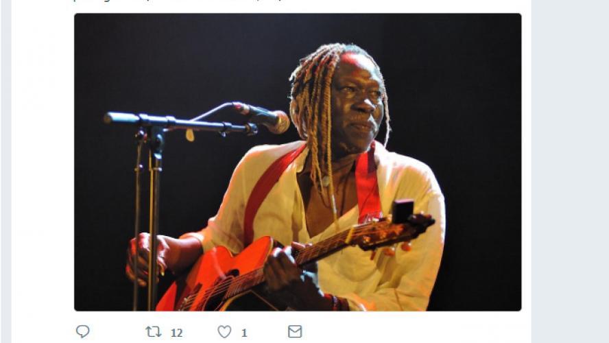 Le musicien Geoffrey Oryema a tiré sa révérence — Ouganda