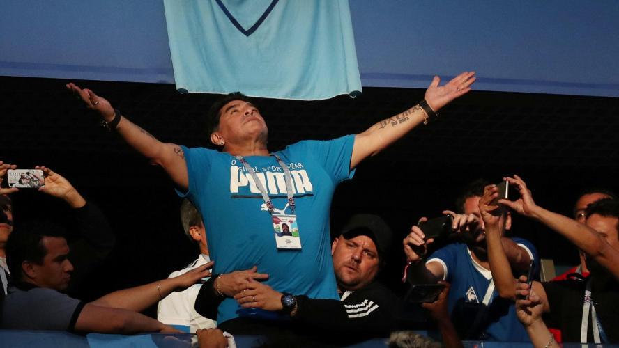 International : Argentine : Maradona revient sur son malaise