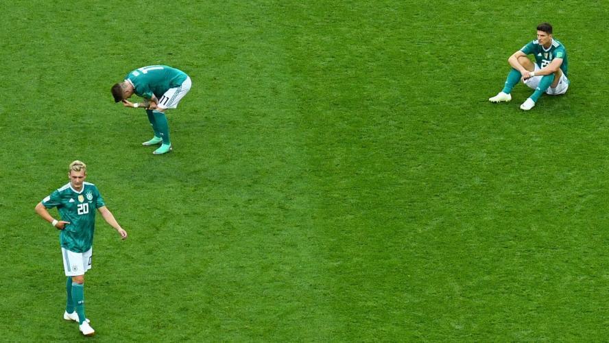 L'Allemagne éliminée de la Coupe du Monde — Coup de tonnerre