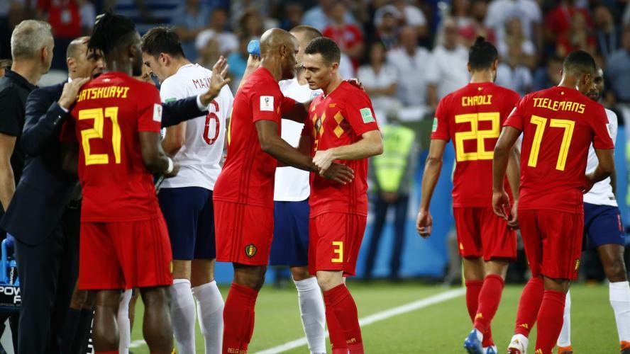 Les Diables rouges en quarts de finale — Match Belgique-Japon