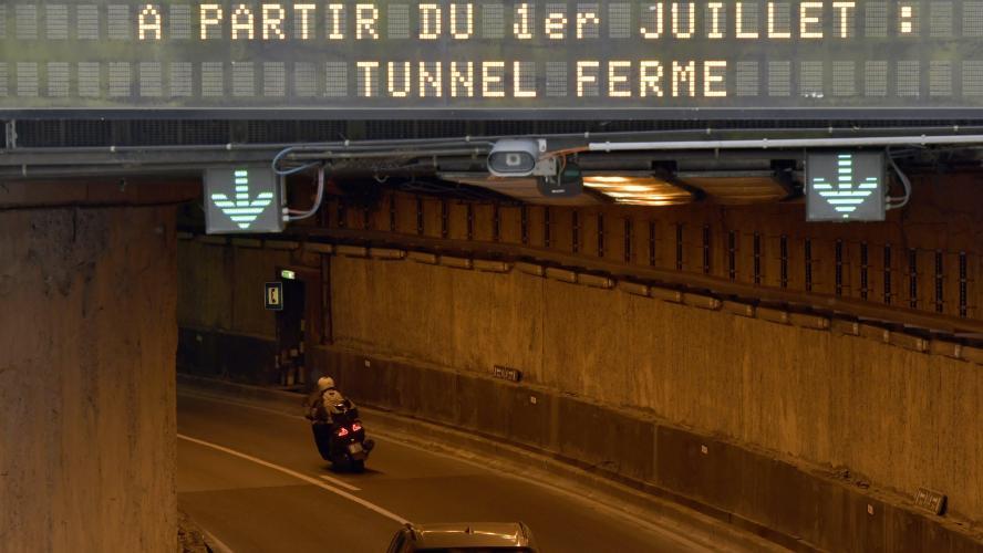 Le tunnel Léopold II à Bruxelles totalement fermé pendant ...