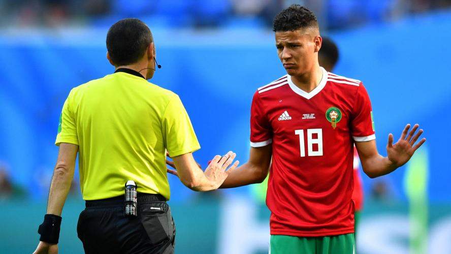 Amine Harit impliqué dans un accident à Marrakech