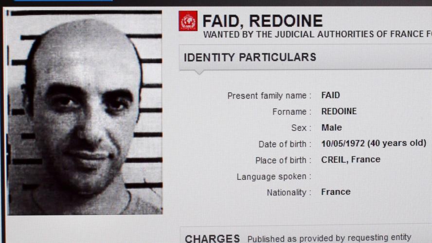 Le braqueur Faïd toujours en cavale après son évasion spectaculaire