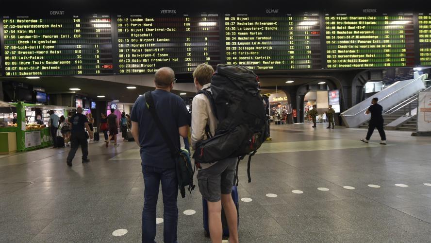 Trafic ferroviaire fortement perturbé malgré le service minimum