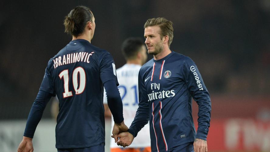 Zlatan et Beckham se lancent un pari fou — Angleterre/Suède