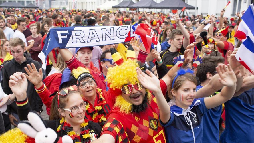 France-Belgique : Deschamps et Martinez rendent hommage à leurs joueurs