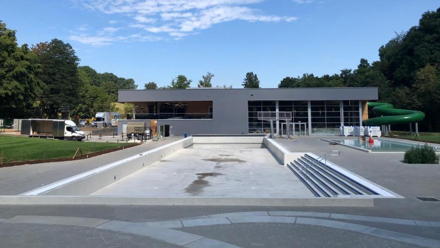 Ouverture report e pour la nouvelle future piscine for Probleme electrolyseur piscine