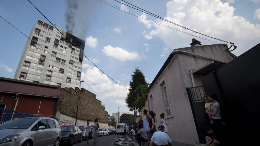 Que risque l'enfant soupçonné d'avoir provoqué l'incendie d'une tour HLM — Aubervilliers