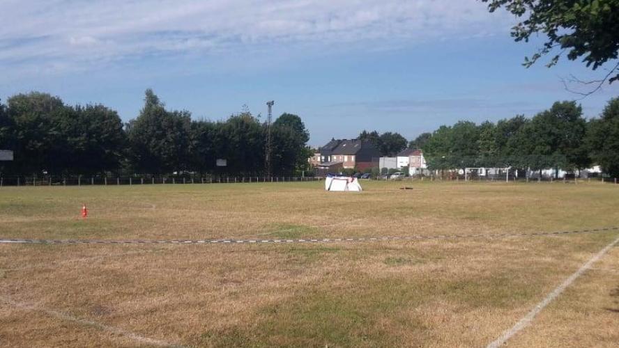Un ancien militaire se fait exploser sur un terrain de foot — Belgique