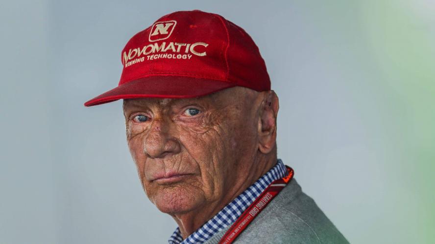 Niki Lauda a subi une transplantation pulmonaire