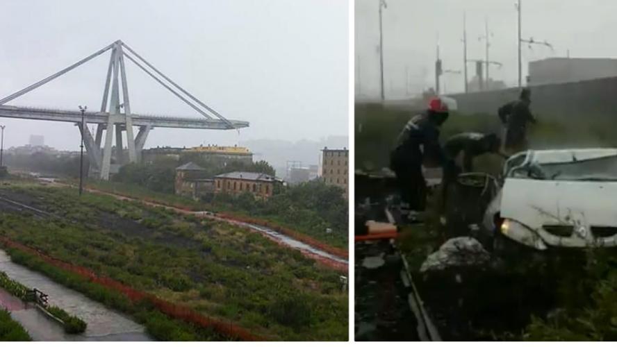 L'effondrement d'un viaduc fait au moins 38 morts