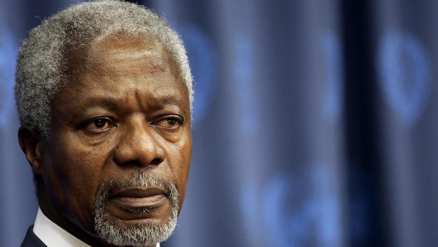 Kofi Annan s'est éteint en Suisse à 80 ans — Ghana Ghana