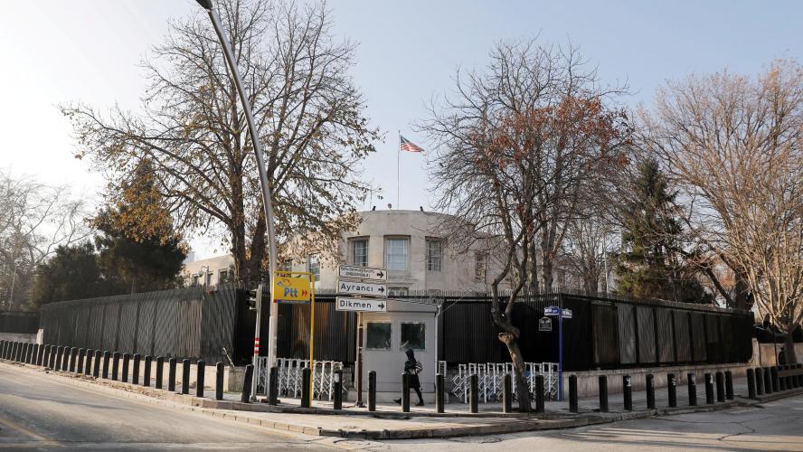 Attaque contre l'ambassade des Etats-Unis à Ankara — Turquie