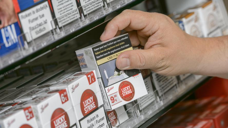 Tabac: Le prix des cigarettes augmente légèrement ce lundi