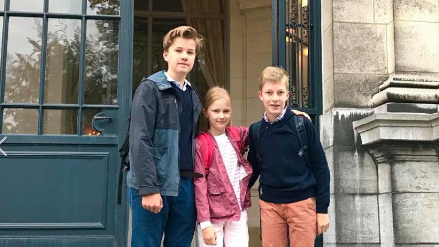 Une rentrée en toute simplicité pour la famille royale