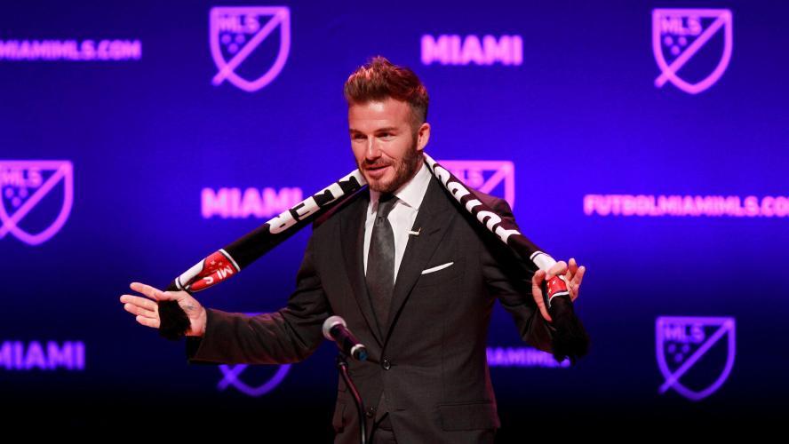 L'équipe de Miami dévoile son identité — MLS
