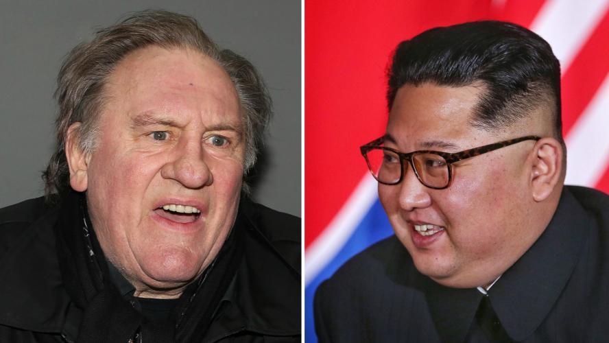 On sait ce que Depardieu est allé faire en Corée du Nord