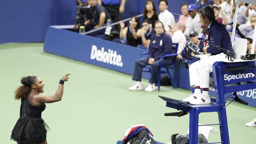 Tennis - US Open: 17'000 dollars d'amende pour Serena Williams