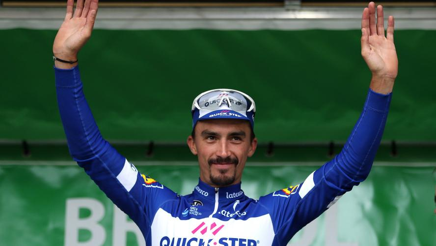 Alaphilippe reste leader du Tour de Slovaquie