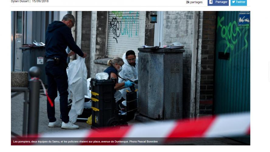 Un jeune homme tué pour un problème de voisinage — Lomme