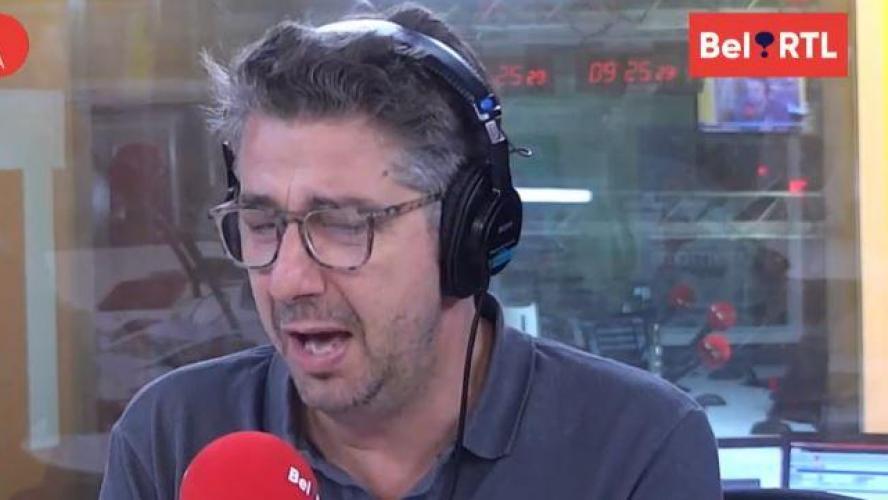 Jean-Michel Zecca très ému en plein direct sur Bel RTL (vidéo)