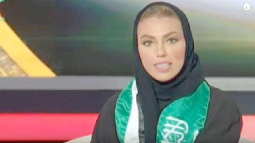 Pour la première fois, une femme présente les infos en Arabie saoudite