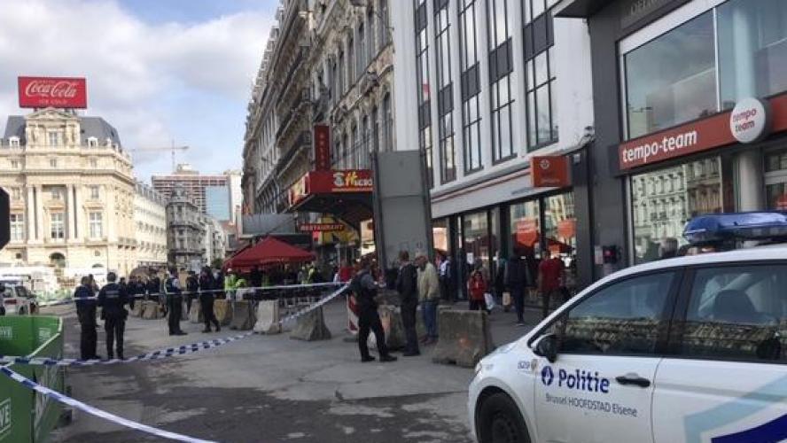La station De Brouckère évacuée à cause d'une odeur suspecte
