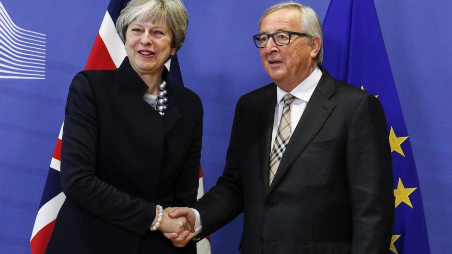 La déclaration pleine d'optimisme de Jean-Claude Juncker — Brexit