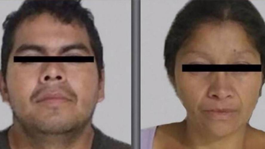 Un couple arrêté avec des restes humains dans une poussette — Mexique