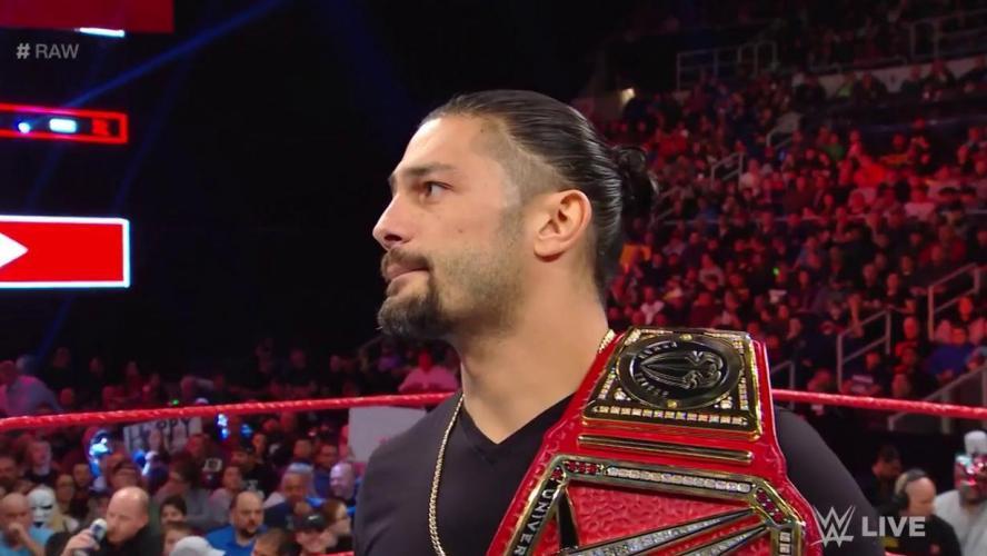 Choc Pour Les Fans De Catch La Superstar Roman Reigns Le