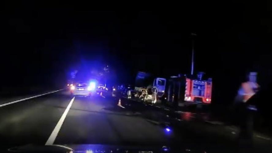 Deux morts dans un accident avec un camion (vidéos) — Quévy
