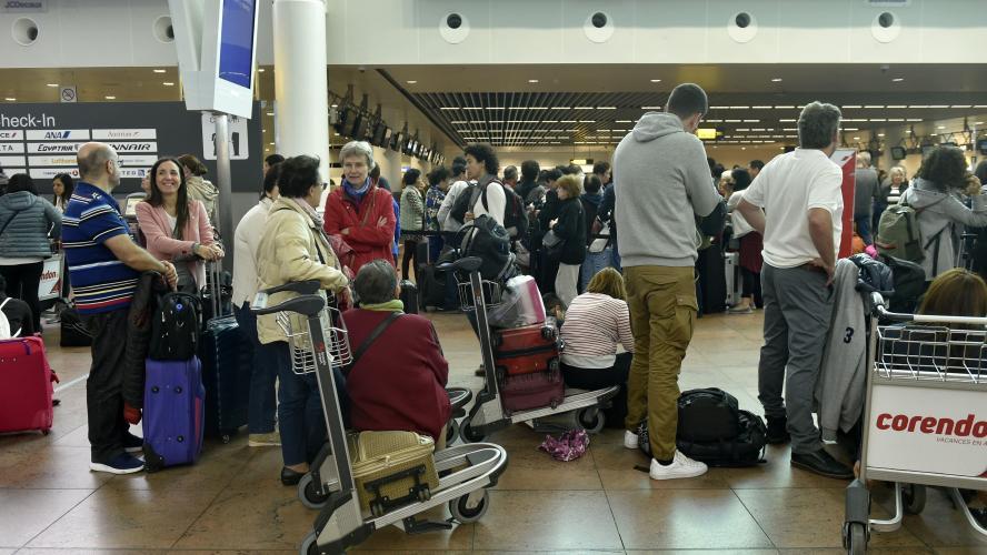 La grève des bagagistes à Brussels Airport va se poursuivre ce lundi