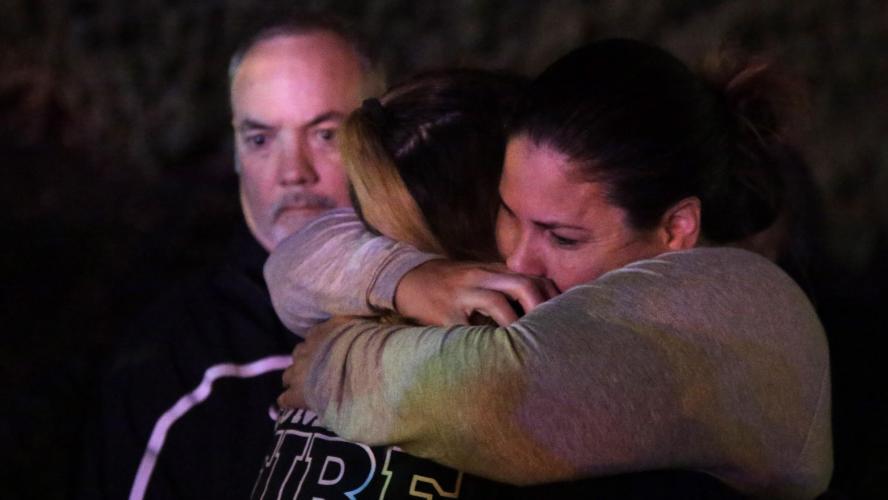 Rassemblement en hommage aux victimes de la fusillade — Californie