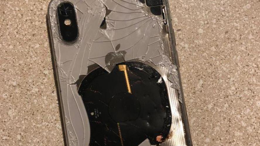 Un iPhone X explose pendant la mise à jour vers iOS 12.1