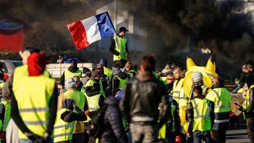 Gilets Jaunes : Bilan de ce samedi