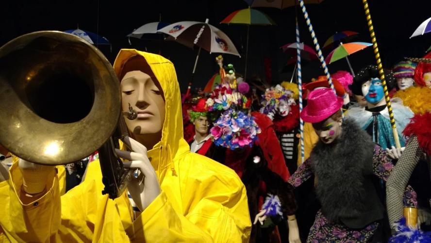 Dunkerque, le bordel magnifique : à voir au Musée du Masque de Binche