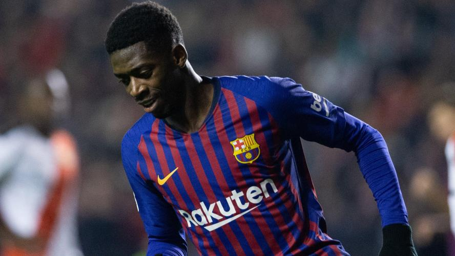 Ousmane Dembélé de nouveau en retard à l'entraînement — Barcelone