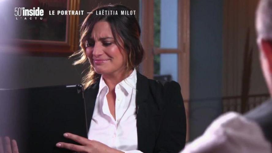 En larmes sur TF1 — Laëtitia Milot
