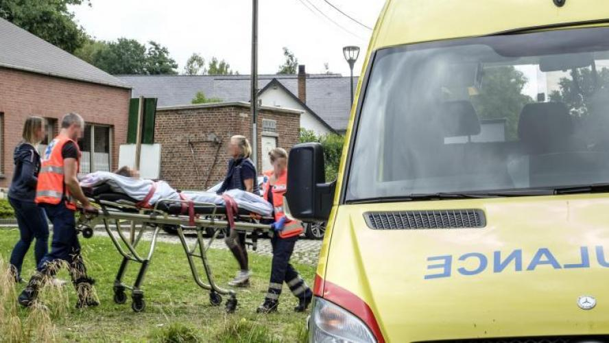 Photo d'illustration, des ambulanciers.