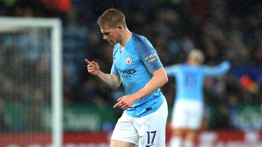 Manchester City se fait peur à Leicester — League Cup